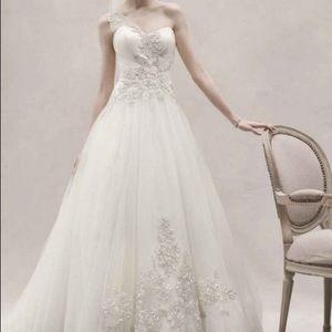 Oleg Cassini Wedding Dress Size 12